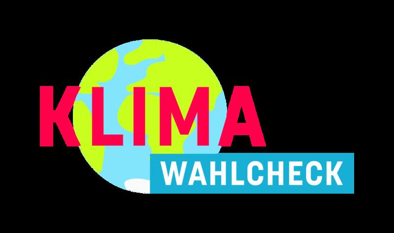 Logo Klimawahlcheck